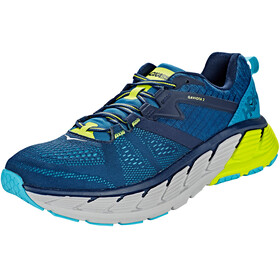 Hoka One One Gaviota 2 Running Shoes Men Black Iris/Seaport